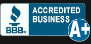 A+BBB Accredited Business.